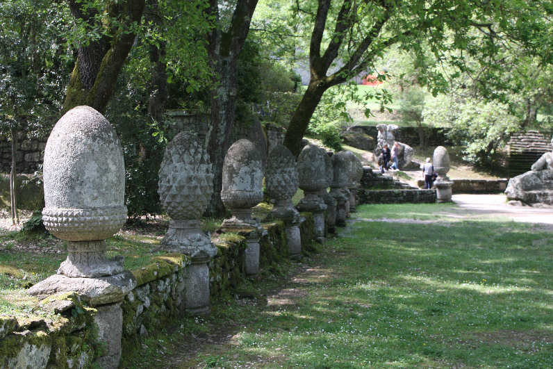 The park of Monsters of Bomarzo