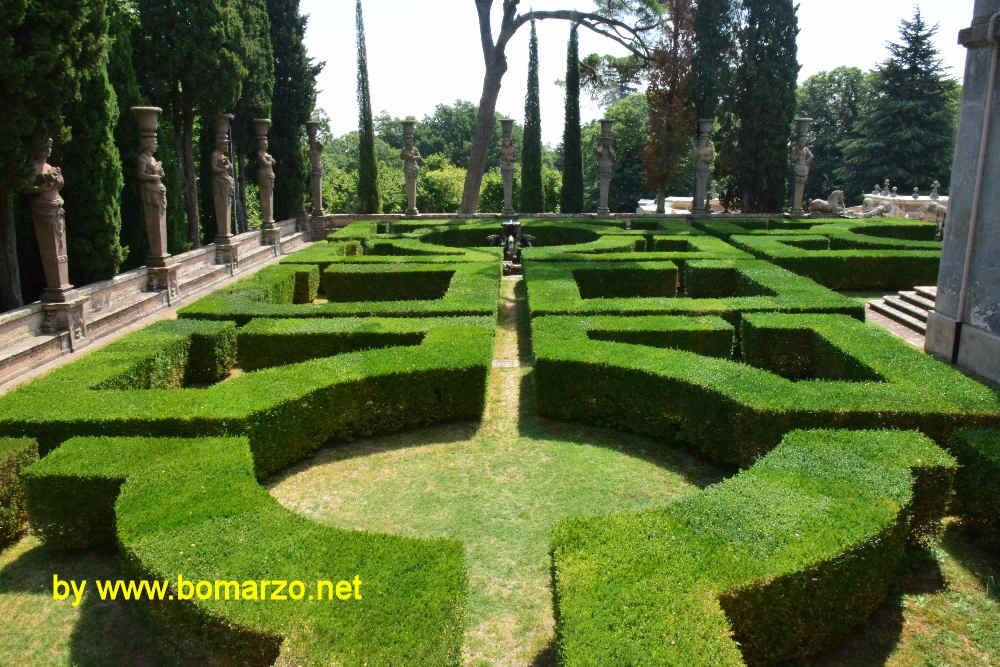 Palazzo farnese a caprarola il giardino all 39 italiana - Giardino all italiana ...