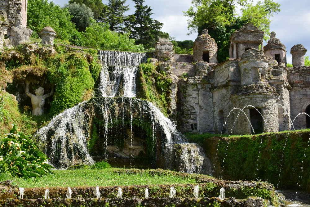 Risultati immagini per fontana villa d'este