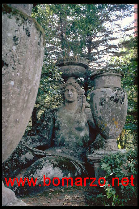 The park of Monsters of Bomarzo - Ceres
